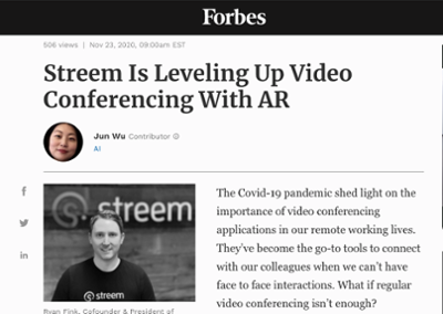 Streem Is Leveling Up Video Conferencing with AR